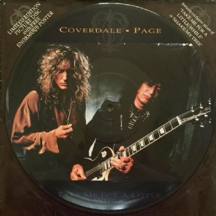"Coverdale/Page - Take Me For A Little While (12"") (Picture Disc) (G/G+)"